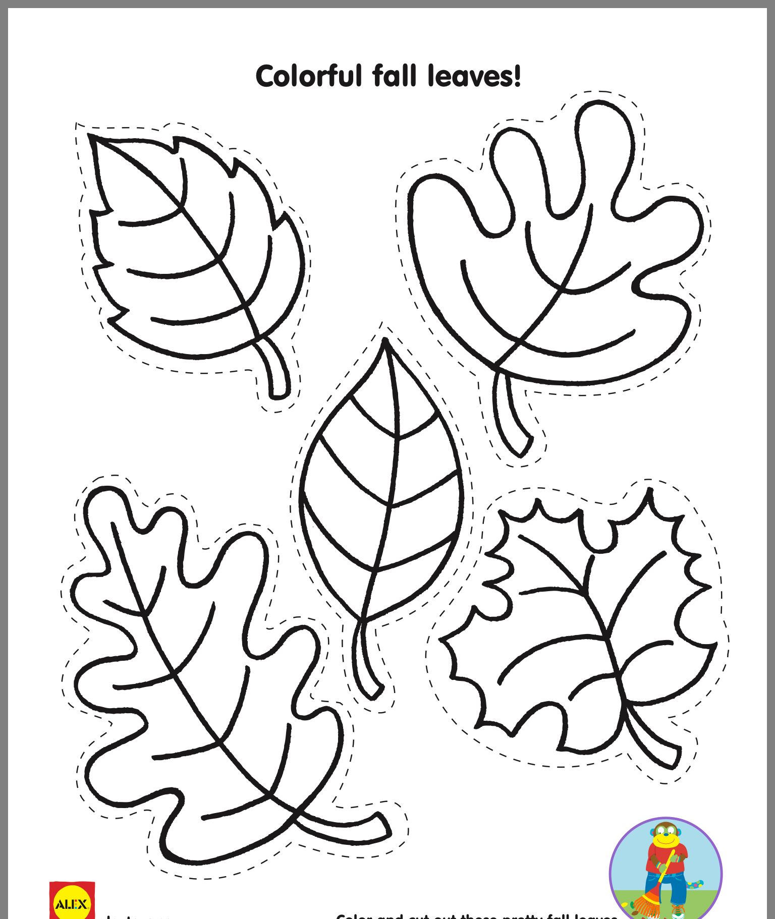 Fall Leaf Template Image By Laura Shelinsky On Preschool