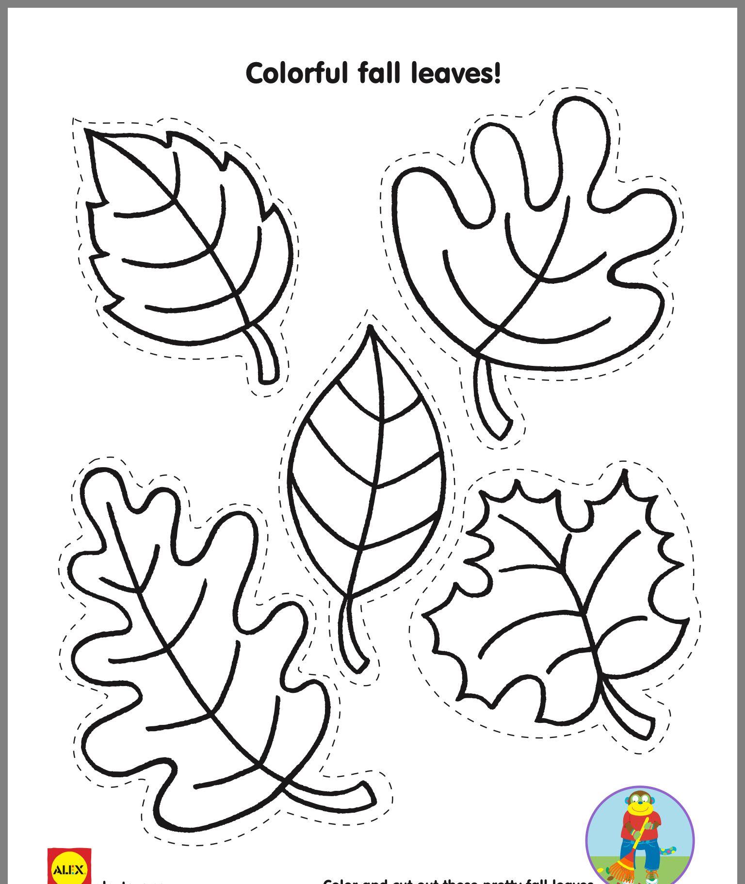 Fall leaf template image by laura shelinsky on Preschool