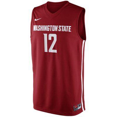 d33bf7f21 Nike Washington State Cougars Replica Basketball Jersey #GoCougs