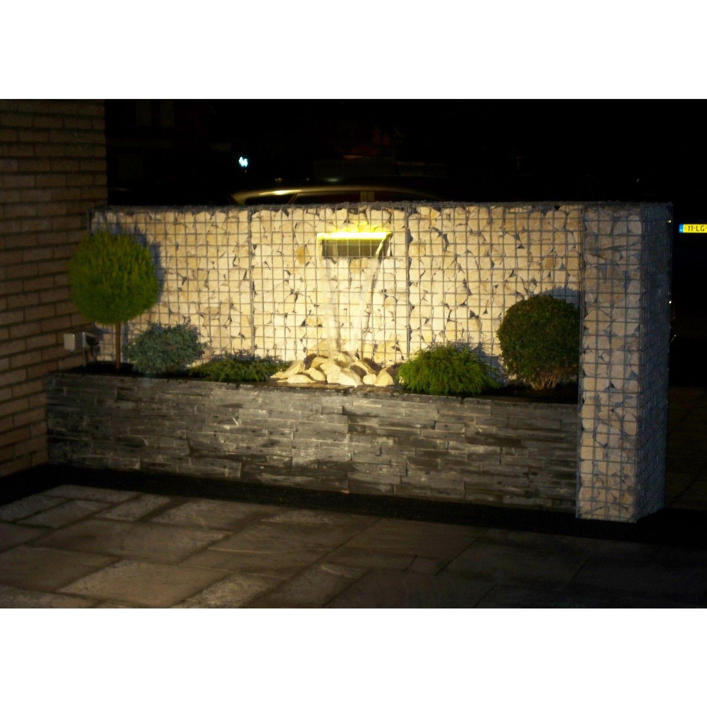 Nautic LED Pro Wasserfall Set 30cm | Gabionen | Pinterest ...
