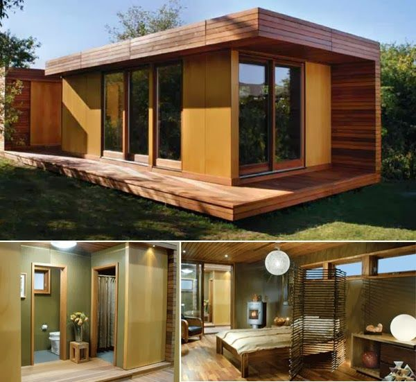 Tiny Modern House | Wooden Modern Small House Plans – Small