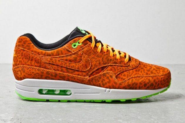 "buy online a4623 535d0 Nike Air Max 1 FB ""Orange Leopard"""