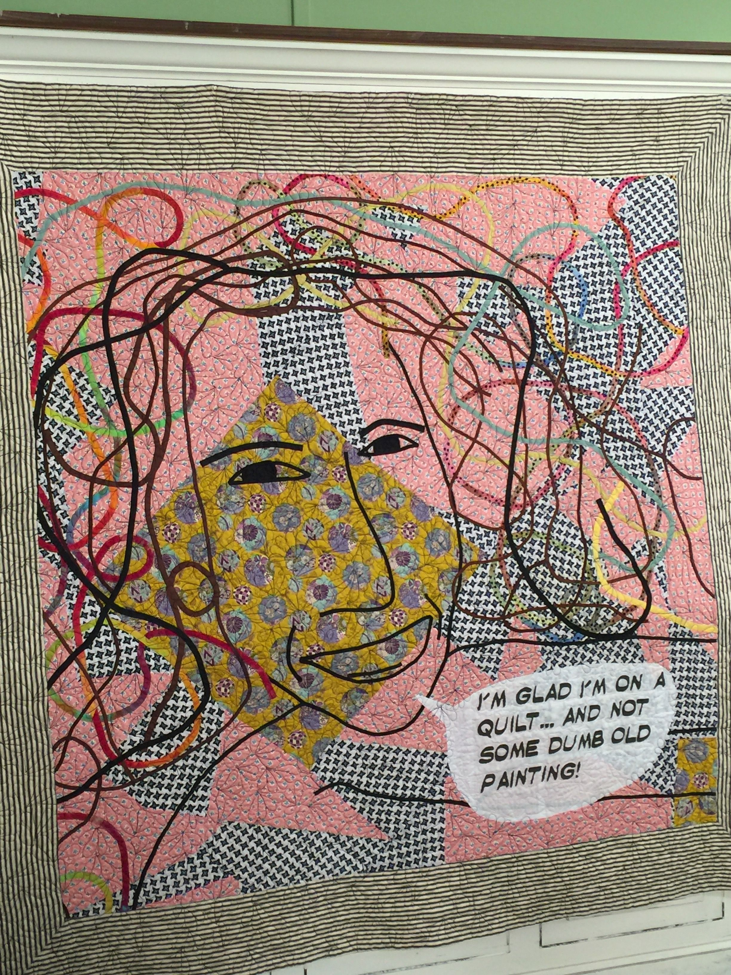 Work By Joe Cunningham Guest On Quilting Arts Tv Series