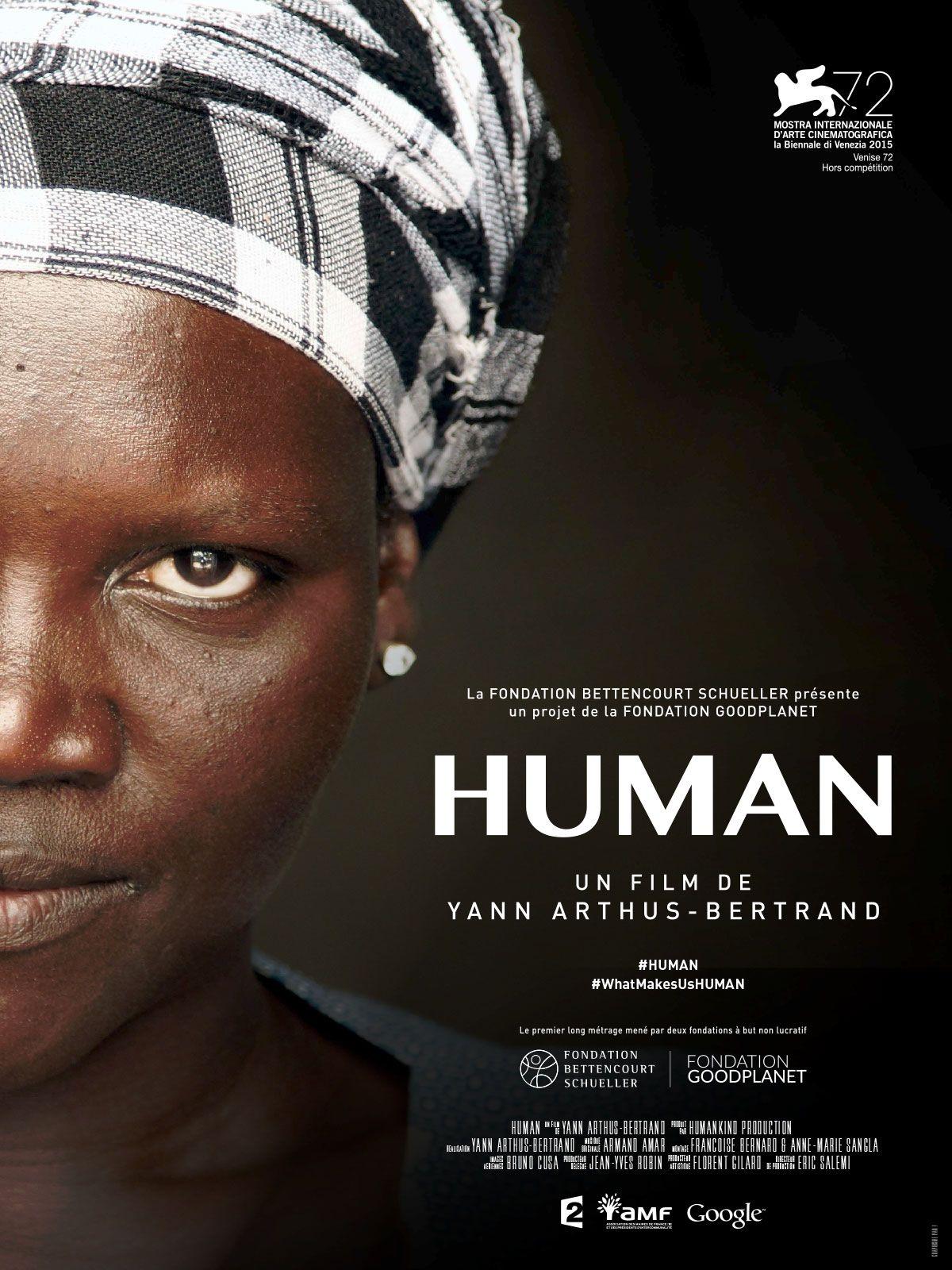 Human est un film de Yann ArthusBertrand avec . Synopsis