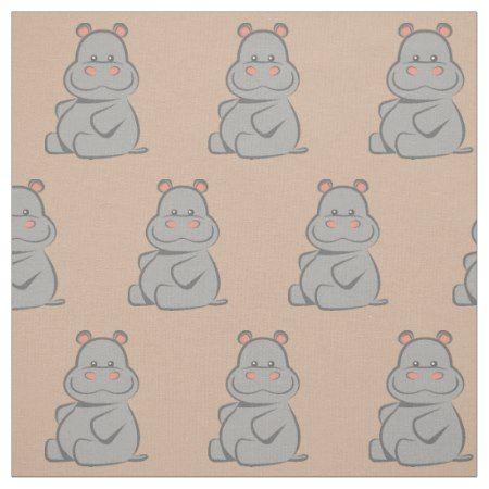Baby Hippo Fabric #babyhippo