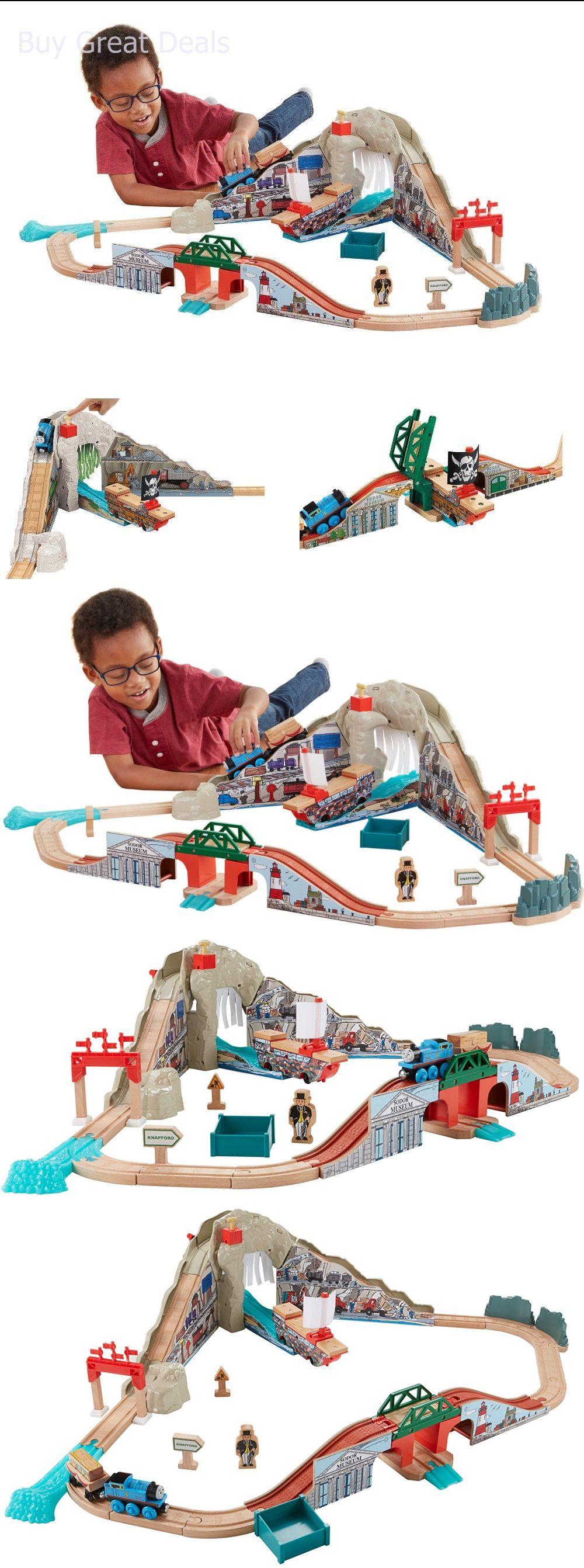 Train Sets 113519: Fisher-Price Thomas The Train Wooden Railway ...