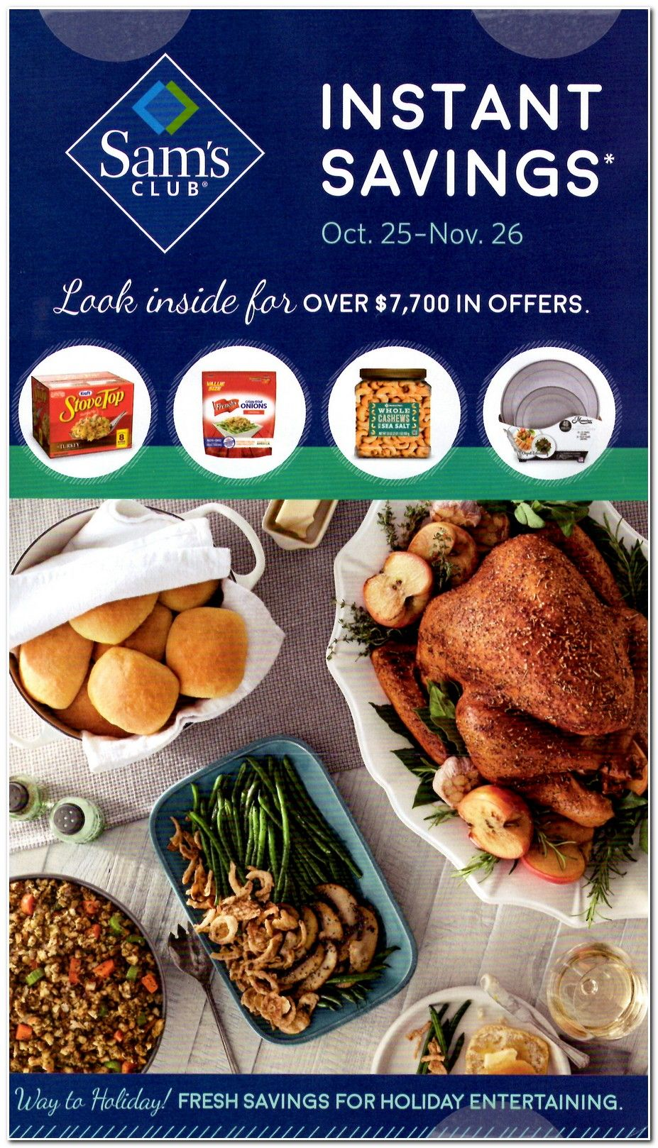 Sam S Club Thanksgiving And Holiday Instant Savings Coupon Book For 2017 Posted See All Thanksgiving 2017 Deals And Discou Sams Club Thanksgiving 2017 Instant