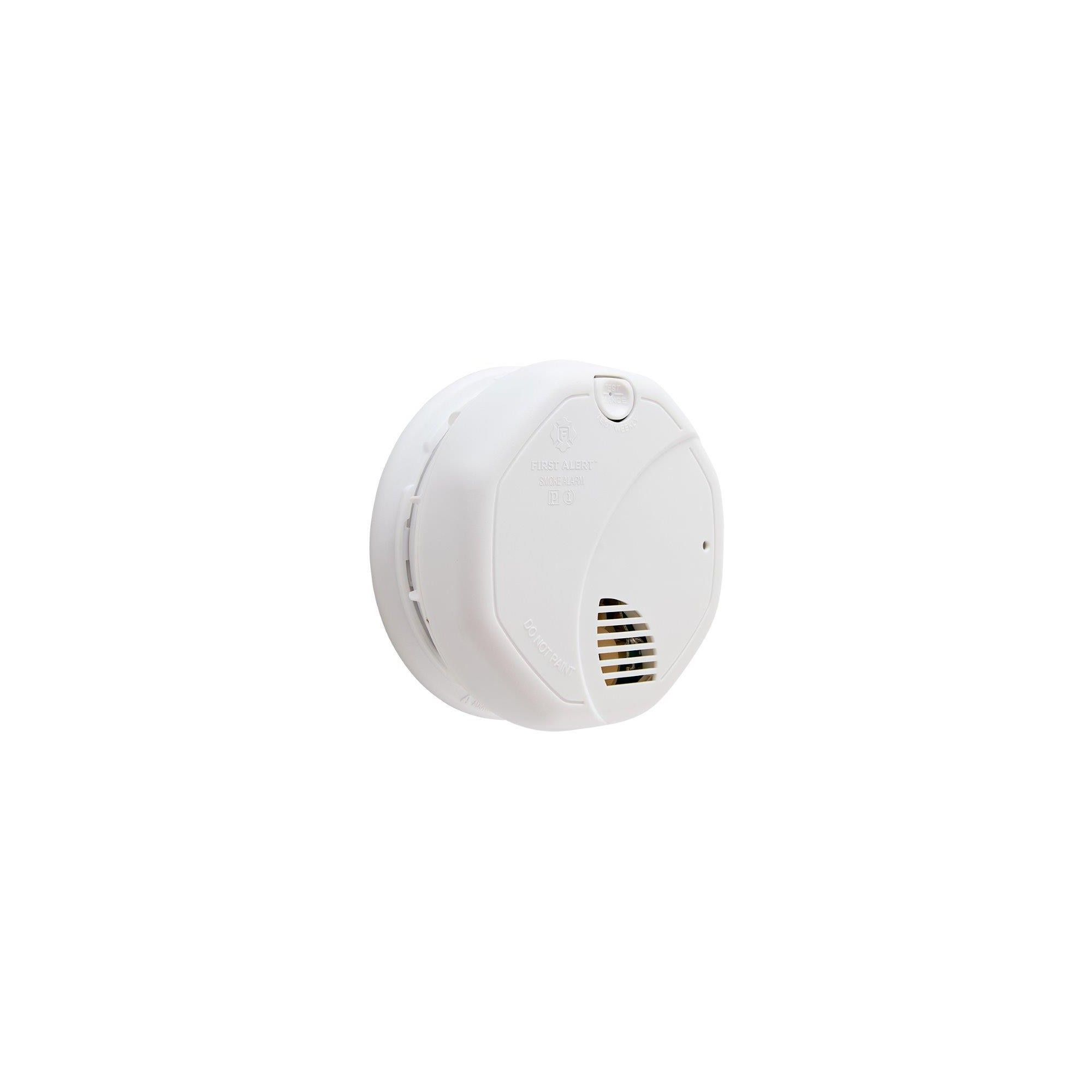 First Alert Personal Smoke Alarm 10 Year Alarm Life Smoke Alarms 10 Years Types Of Fire