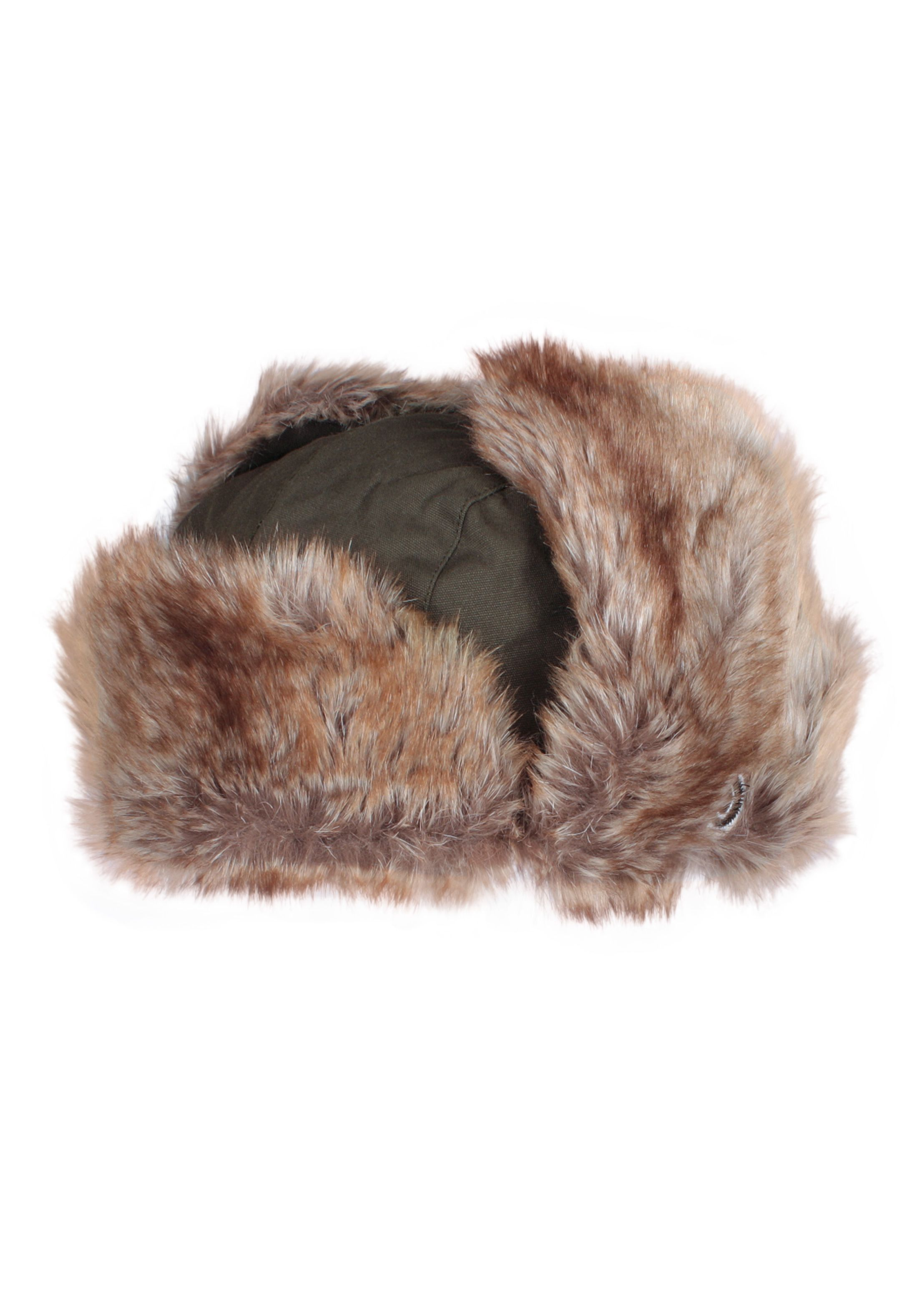 5a42c2976fc Japanese Style Trapper Hat - Faux Fur Bomber Russian Hat Ushanka Mens  Womens Unisex Japan Kawaii