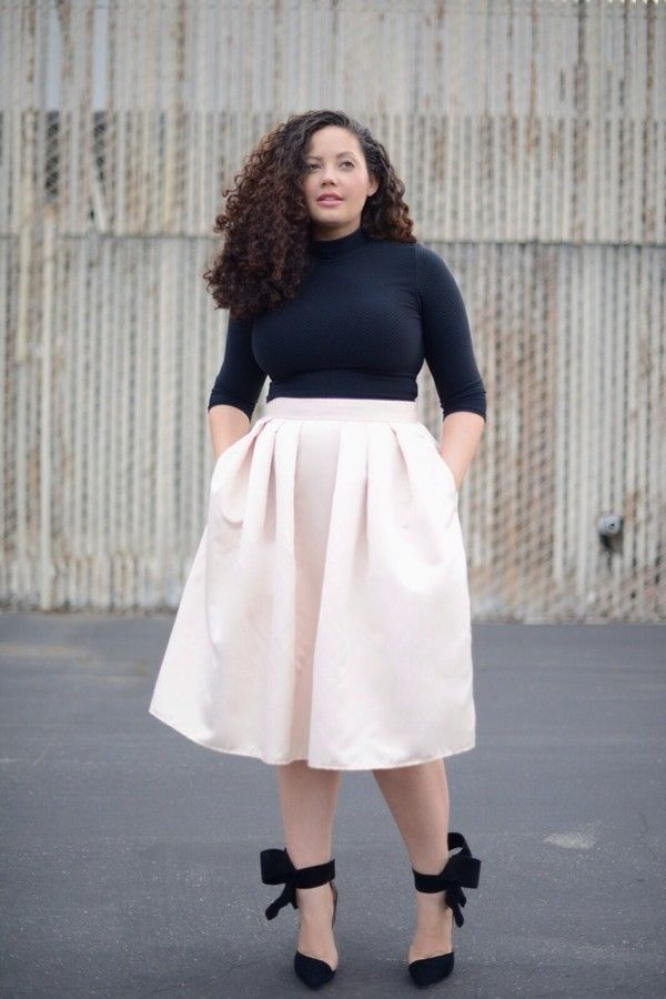 8c40aac75 There are 2 tips to buy skirt, shirt, shoes, plus size. | Clothes in ...