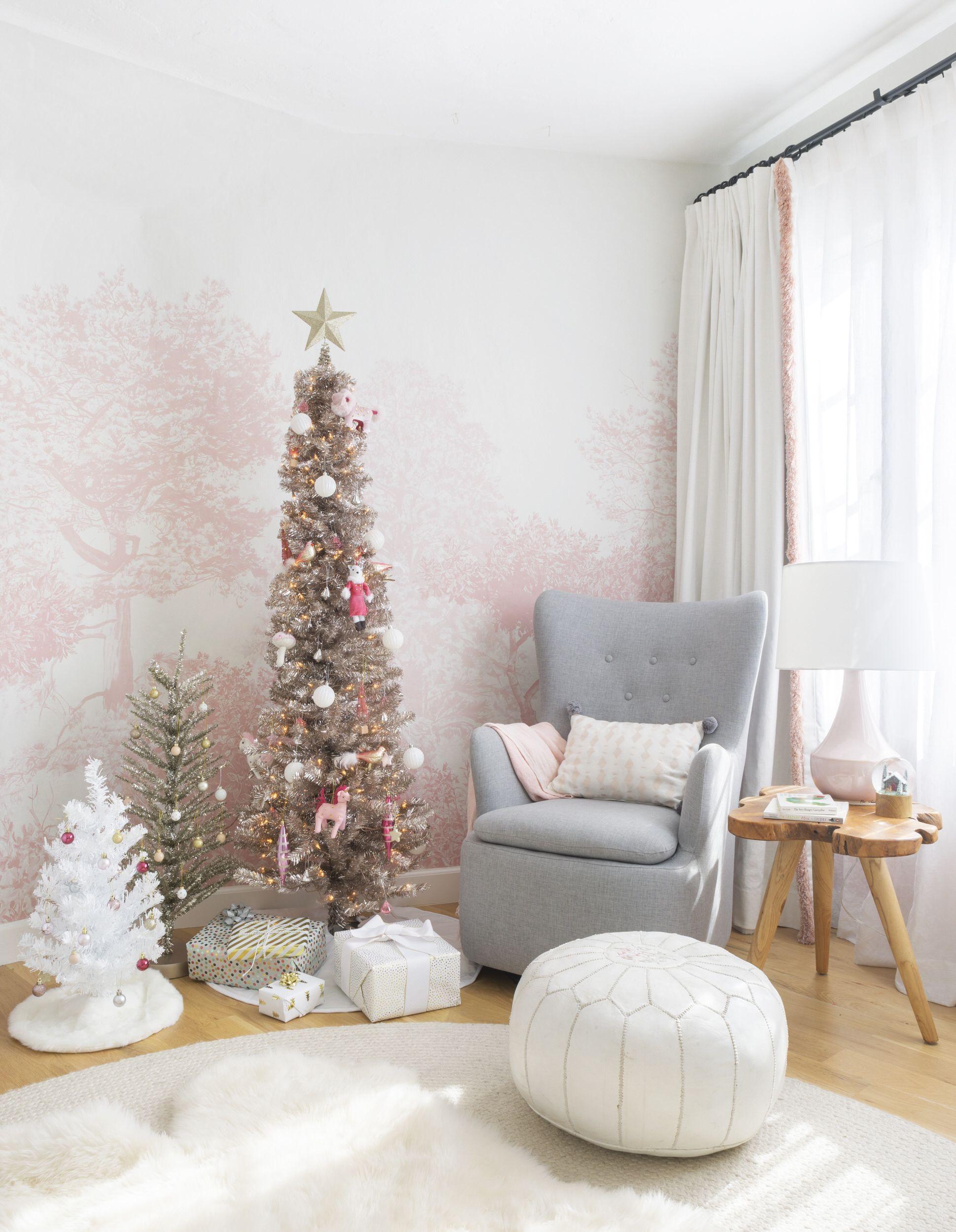 Emily Henderson Blush Rose Gold Christmas 16