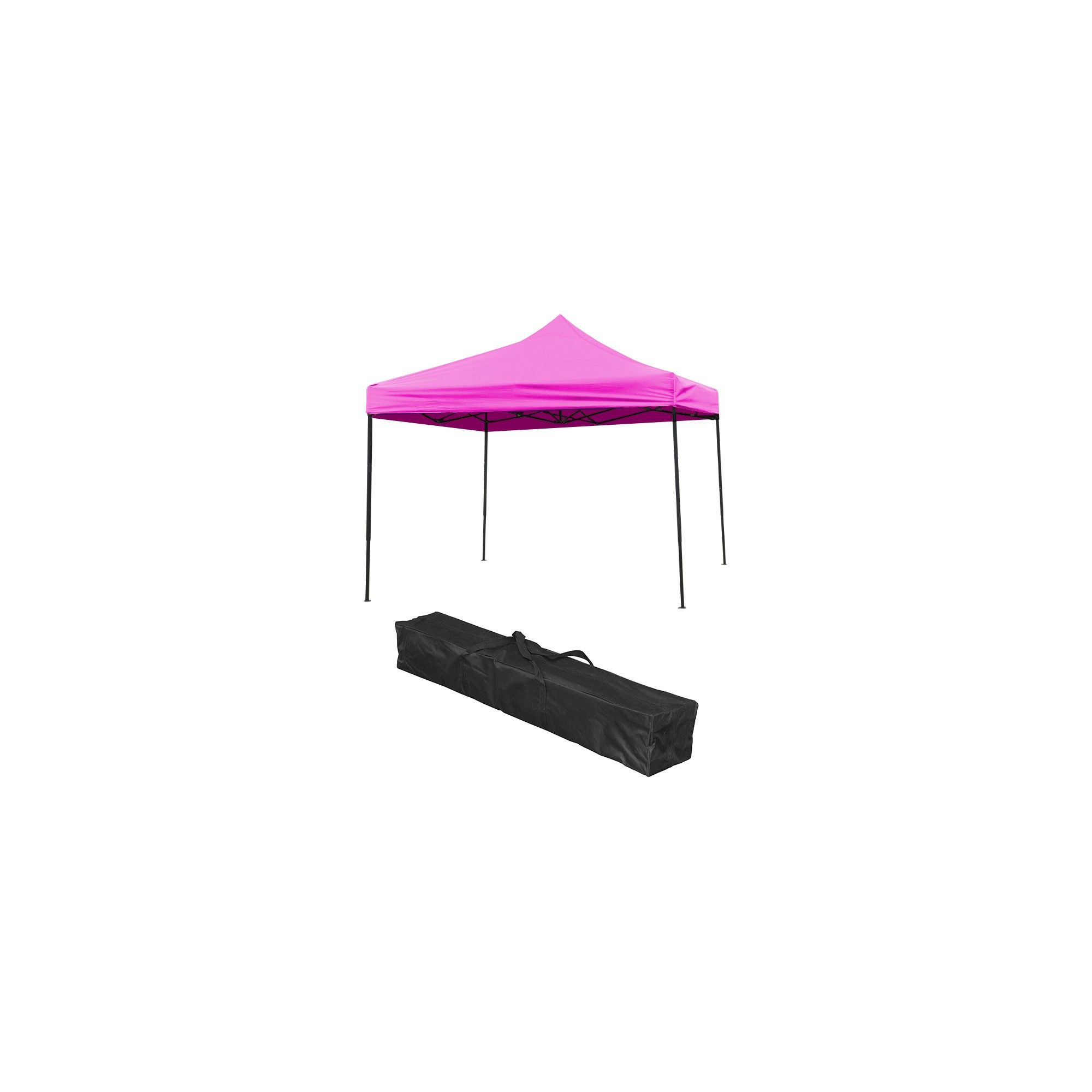 Trademark Innovation Lightweight and Portable Canopy Tent Set 10u0027 X 10u0027 - Pink  sc 1 st  Pinterest & Trademark Innovation Lightweight and Portable Canopy Tent Set 10 ...