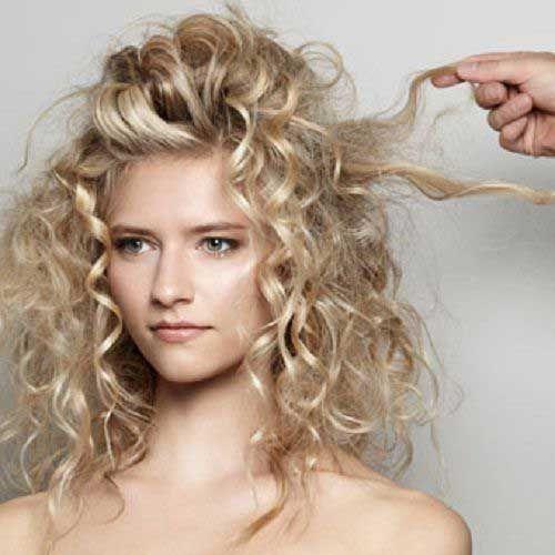 frisuren für lockiges haar-17 | hübsche frisuren, frisuren
