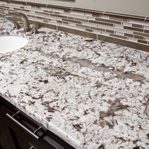 Sammamish Master Bathroom Remodel Granite Countertops