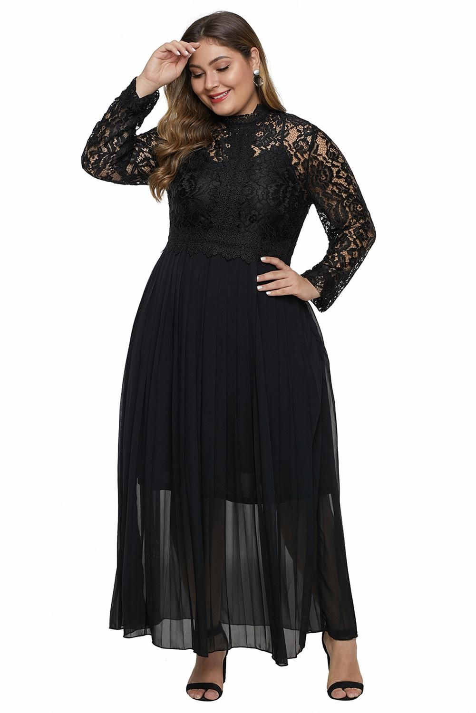 30+ Long sleeve lace dress plus size ideas in 2021