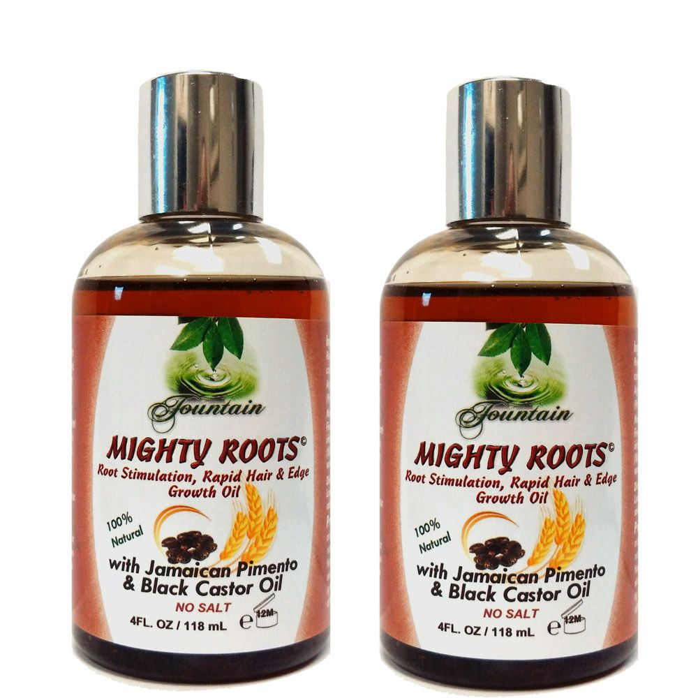Fountain mighty roots with jamaican pimento and black castor oil oz