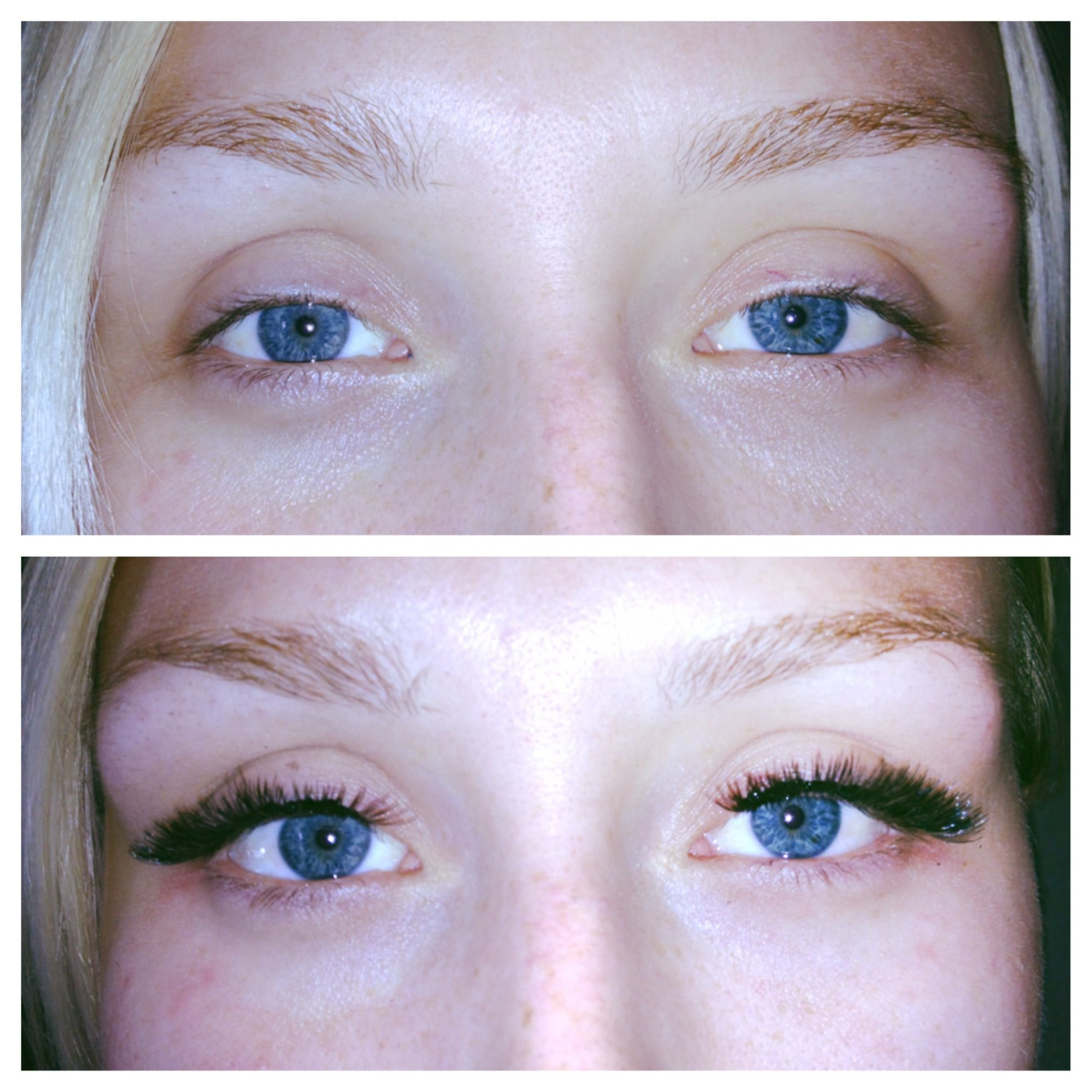 Cluster Eyelash Extensions Hair Extensions Color Updos By