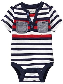 952492b5b 2-in-1 Henley Bodysuits for Baby | Old Navy baby boy | Baby Foster ...