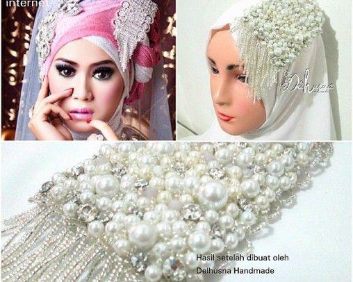 Aksesoris Pesta Wedding Headpiece For Hijab Hijabwedding Aksesorispesta Aksesorispengantin Aksesorisjilbabpengantin Jualakses Pengantin Aksesoris Pesta