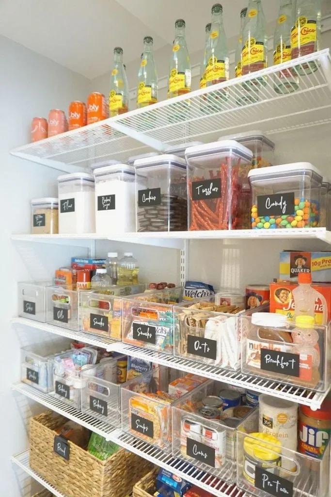 59 Small Kitchen Pantry Organization Ideas