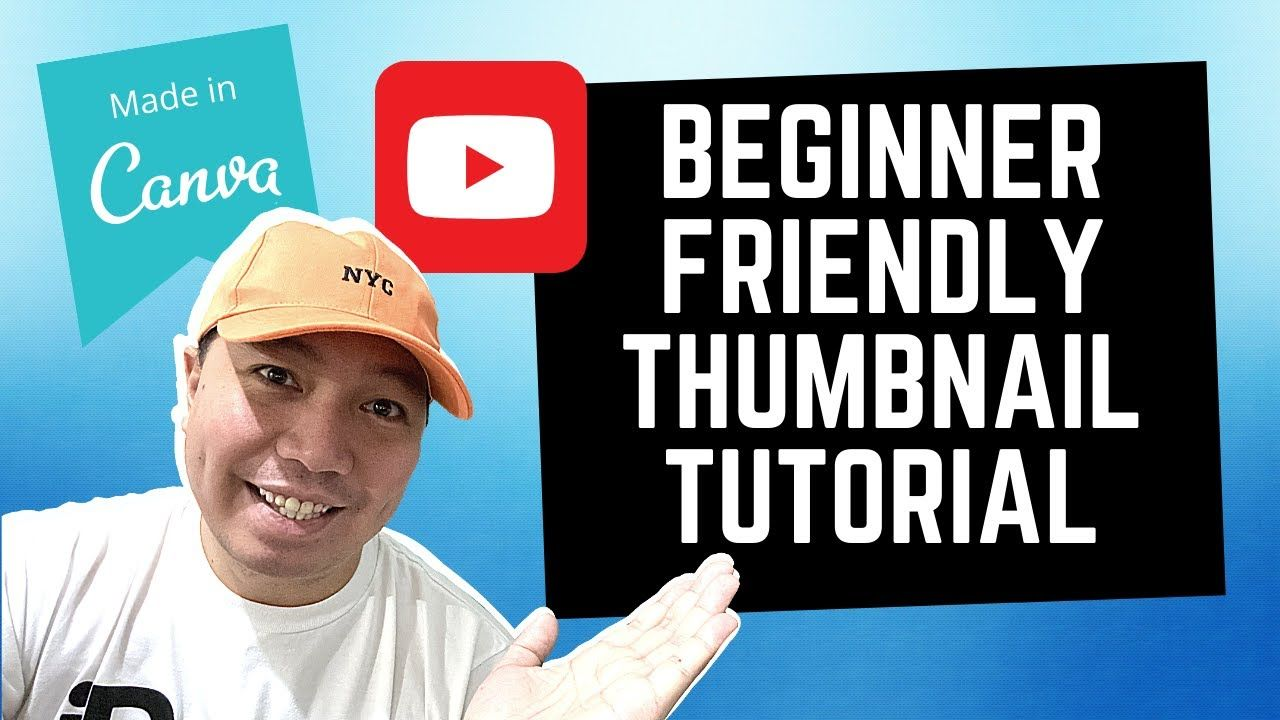 How To Make Youtube Thumbnail Android Iphone Computer Tutorial Taga In 2020 Tutorial Youtube Thumbnail Make Youtube Thumbnail