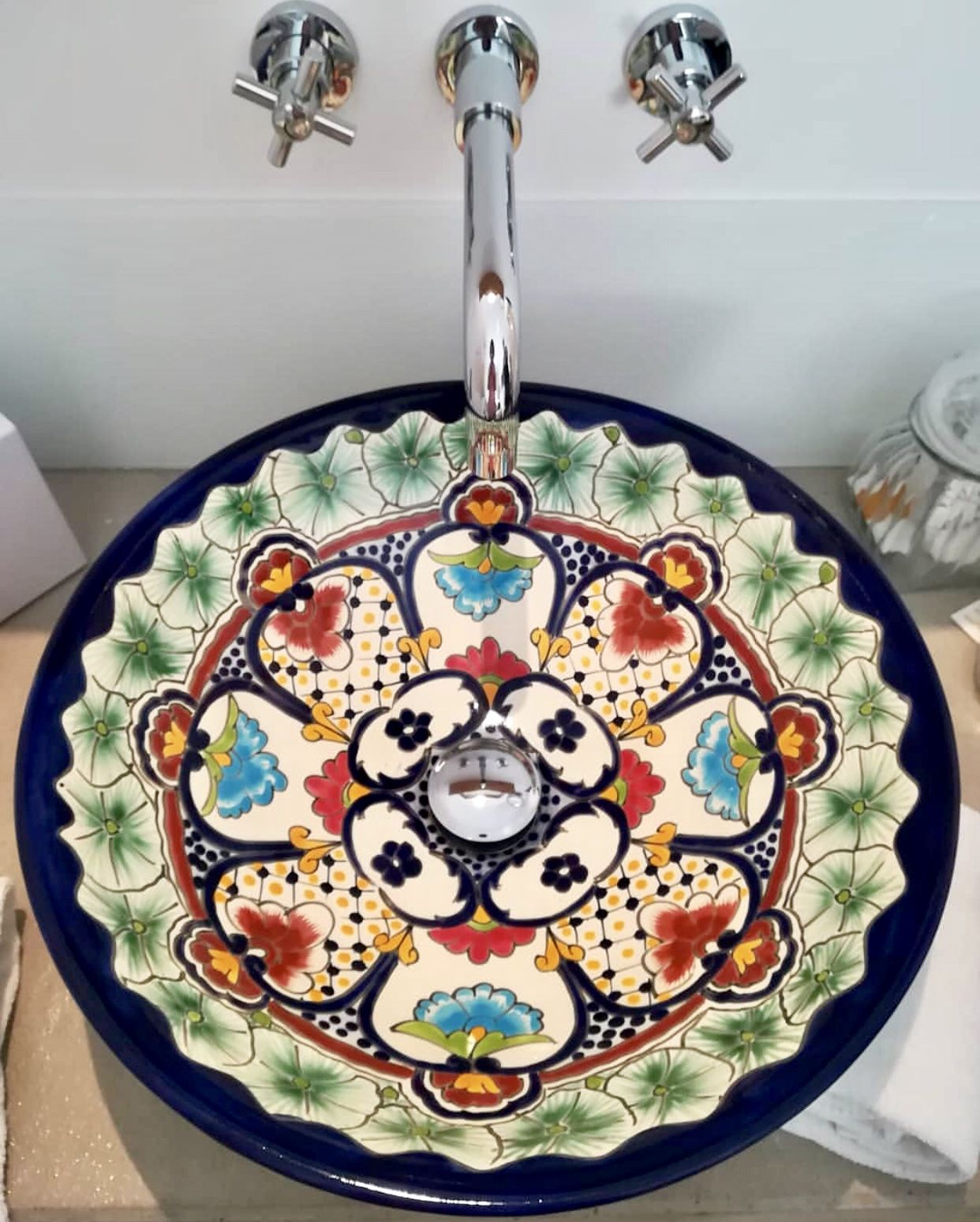 Elegant Bunte Waschbecken Foto Von Mexikanische Von Mexambiente Sind Eine Tolle Alternative