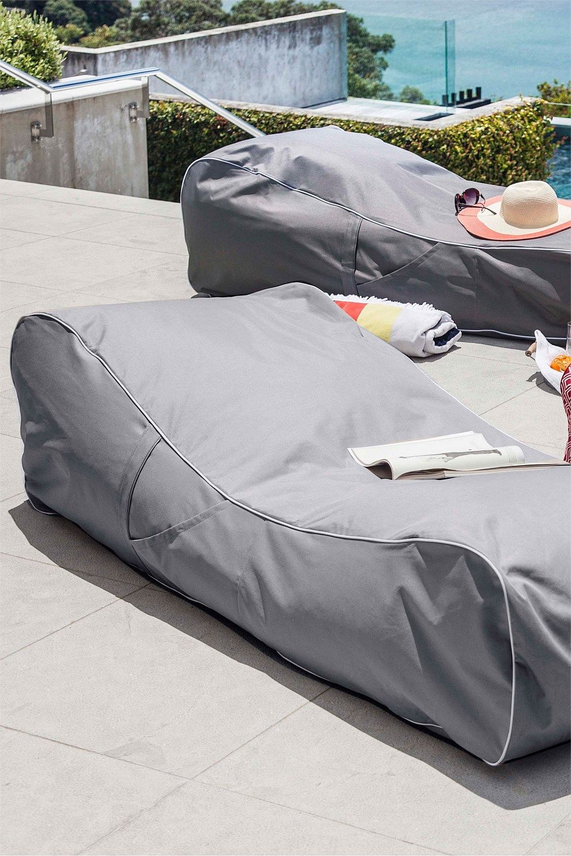 Furniture Collection Indoor/Outdoor Sun Lounger Bean Bag