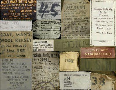 Surplus nh military vintage