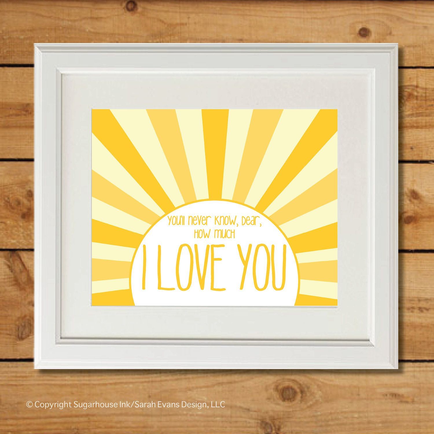 You Are My Sunshine - Printable Art - Nursery Art | You Are My ...
