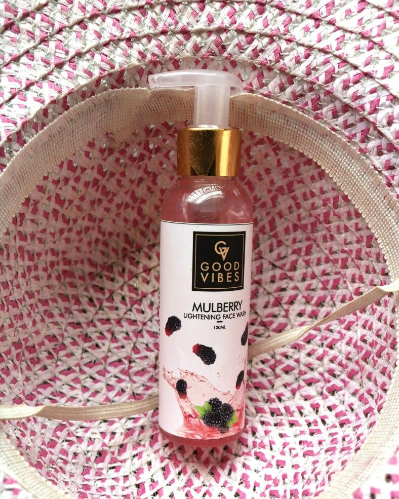 Good Vibes Mulberry Lightening Face Wash Review Face Wash Good