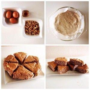 Ořechová buchta - Fitness Recepty