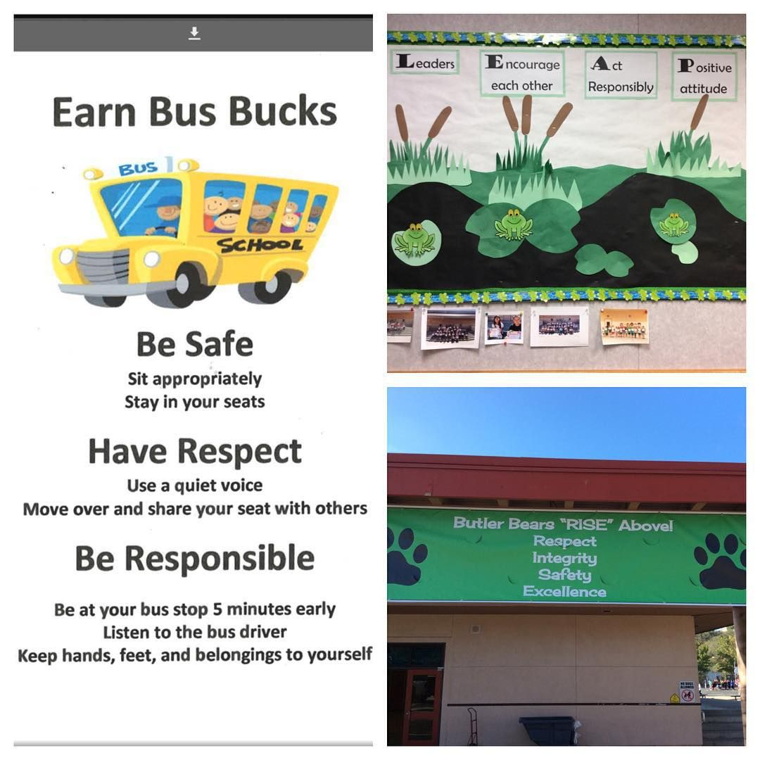 Some Examples Of Pbis In Our District Even Our