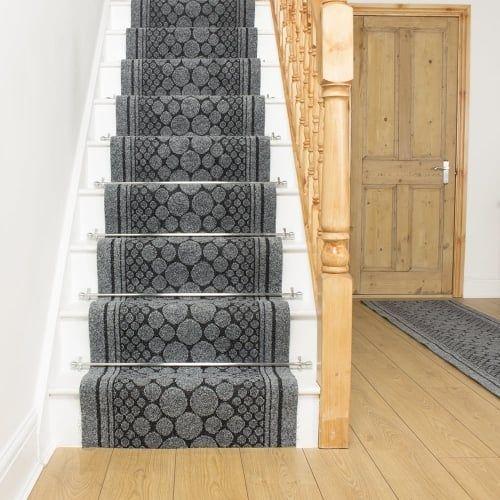 Best Cork Gray Stair Runner Carpet Stairs Stairway 400 x 300