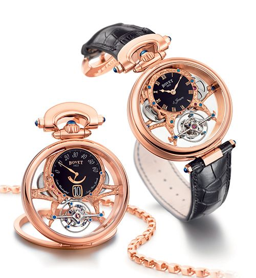 The Virtuoso Tourbillon is a fresh expression of the talents of the BOVET 1822 & DIMIER 1738 artisans BOVET 1822 AMADEO Virtuoso (See more at:http://watchmobile7.com/articles/bovet-1822-amadeo-virtuoso) (4/5) #watches #bovet1822 #bovet