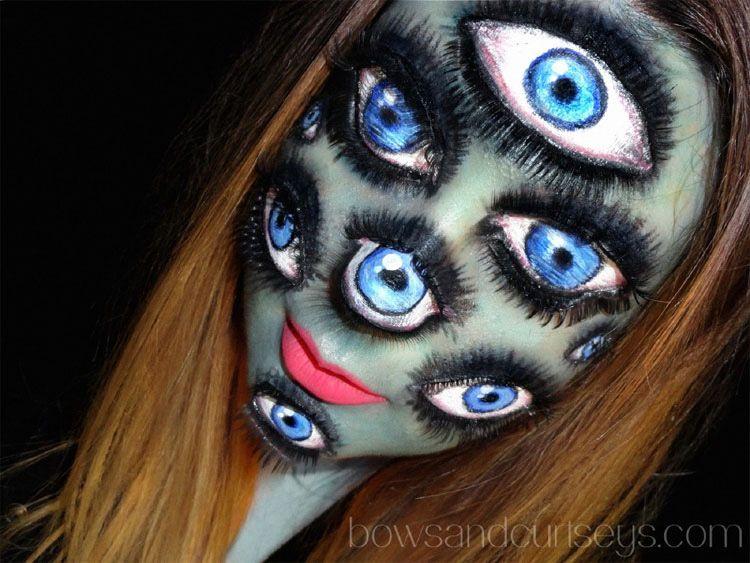 15 ilusiones ópticas con maquillaje para celebrar el Halloween MÁS ...