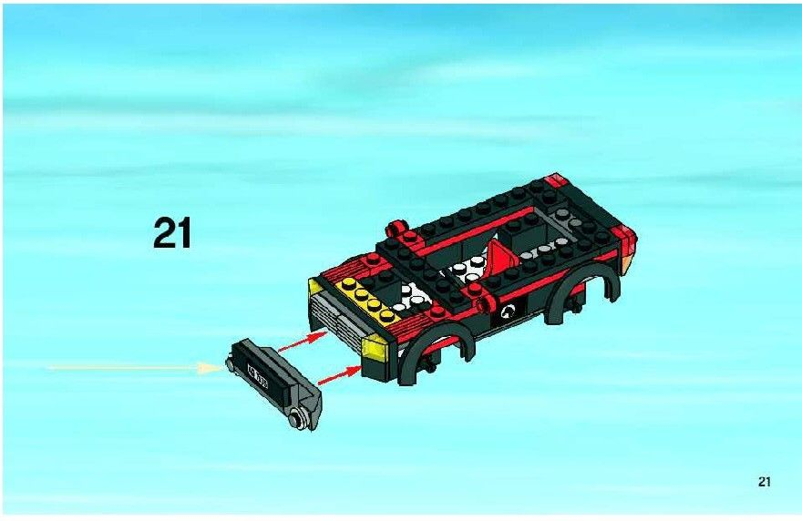 Lego 4wd With Horse Trailer Instructions 7635 City Lego Friend