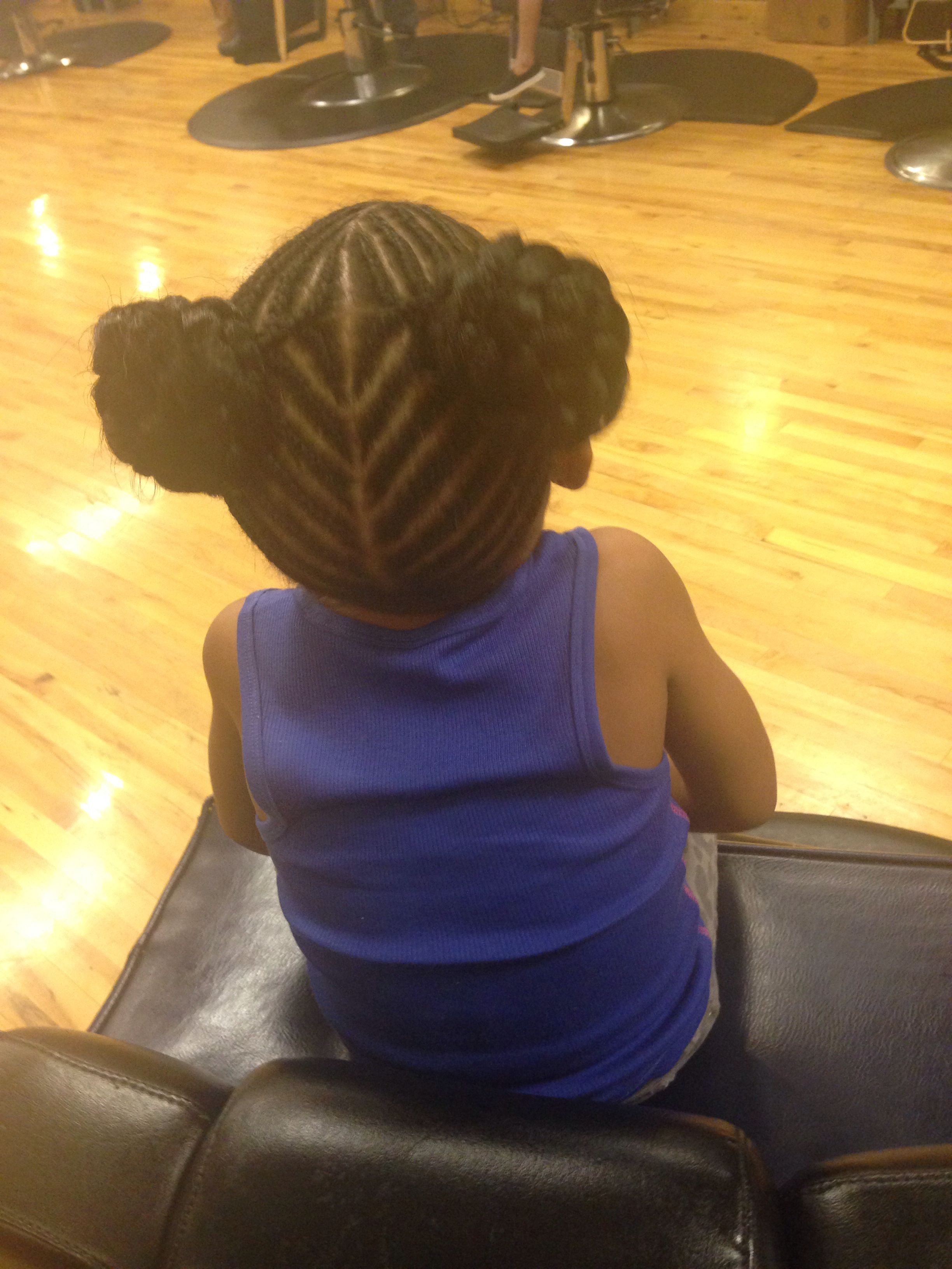 Coiffure Afro école Braided Ponytails B R A I D Z Pinterest Afro