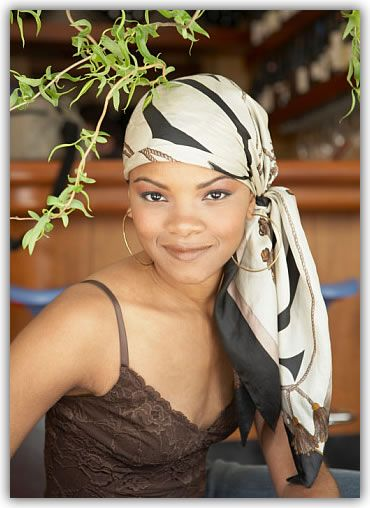 African American Hair Scarf Finished Scarf Hairstyles