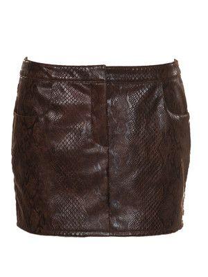 Schnittmuster: Mini-Rock - Lederimitat - Mini & kurze Röcke - Röcke ...