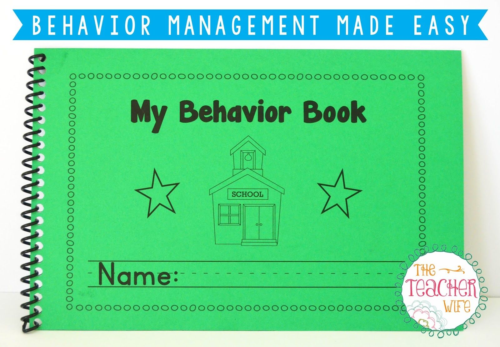 Behavior Management Made Easy Packet Includes Editable