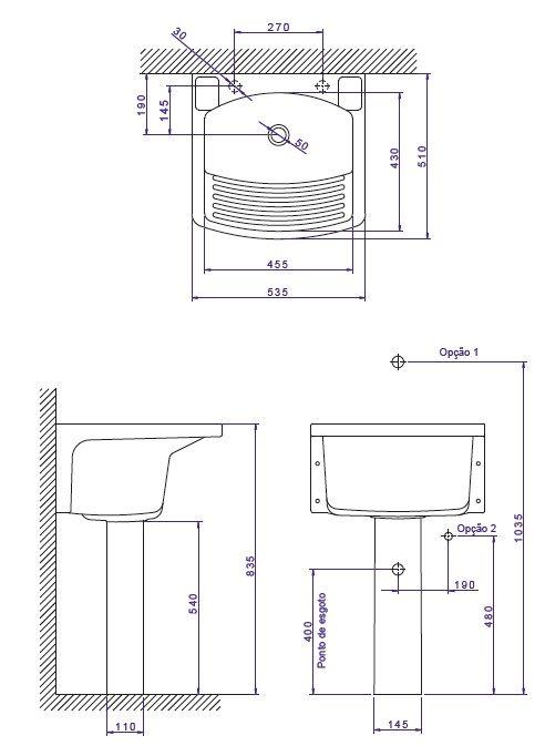 Tanque Deca Medio Tq 02 Tanque De Louca Instalacoes Hidraulicas