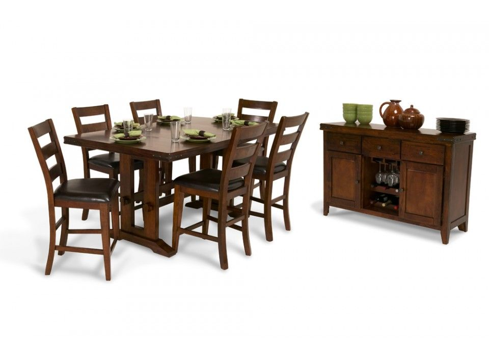 Enormous Pub 8 Piece Dining Set  Dining Room Sets Room Set And Interesting 8 Piece Dining Room Set Decorating Design