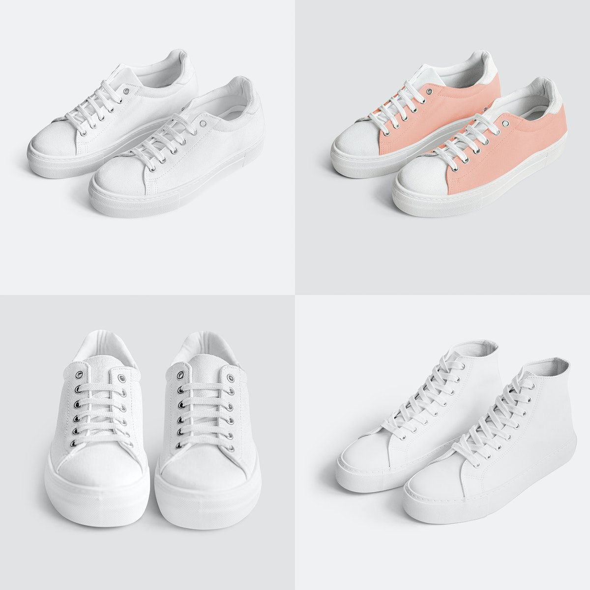 Download Download Premium Illustration Of Women S Canvas Sneakers Mockup Clothing Mockup Canvas Sneakers Sneakers