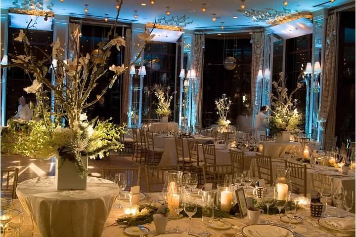 Narido Wedding    Lighting Design by Atmosphere Lighting  Floral by Natalini Flowers    Alexandra's, Westin St. Francis Hotel