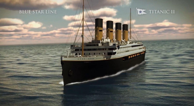 Titanic Ii S First Port Stop Announced Titanic Ii Titanic Boat