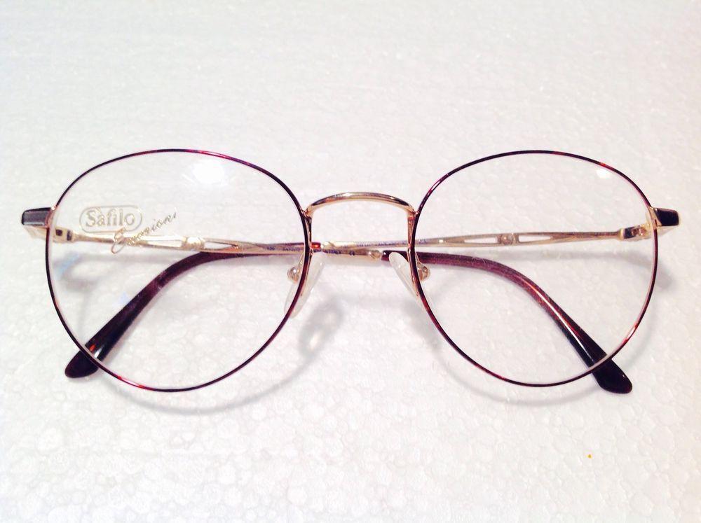 Safilo emozioni vintage eyeglasses frames glasses optical nice ...