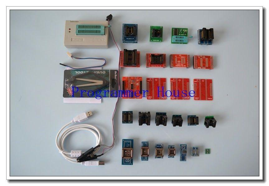 SALE V8 08 XGECU TL866A TL866II Plus Universal minipro programmer
