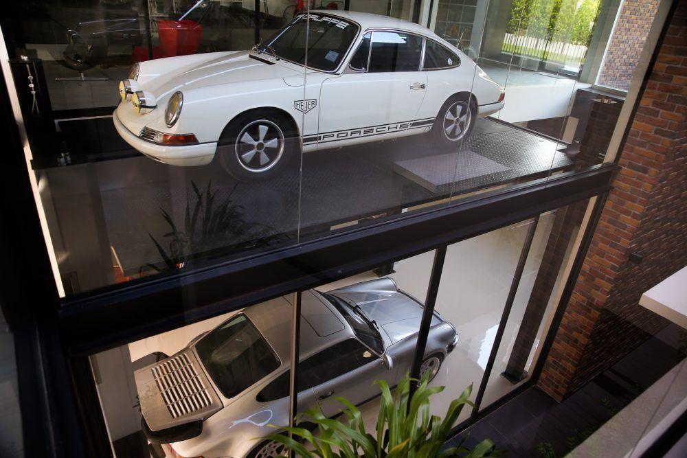 This Dream House In Bangkok Is Built Around The Garage Porsche