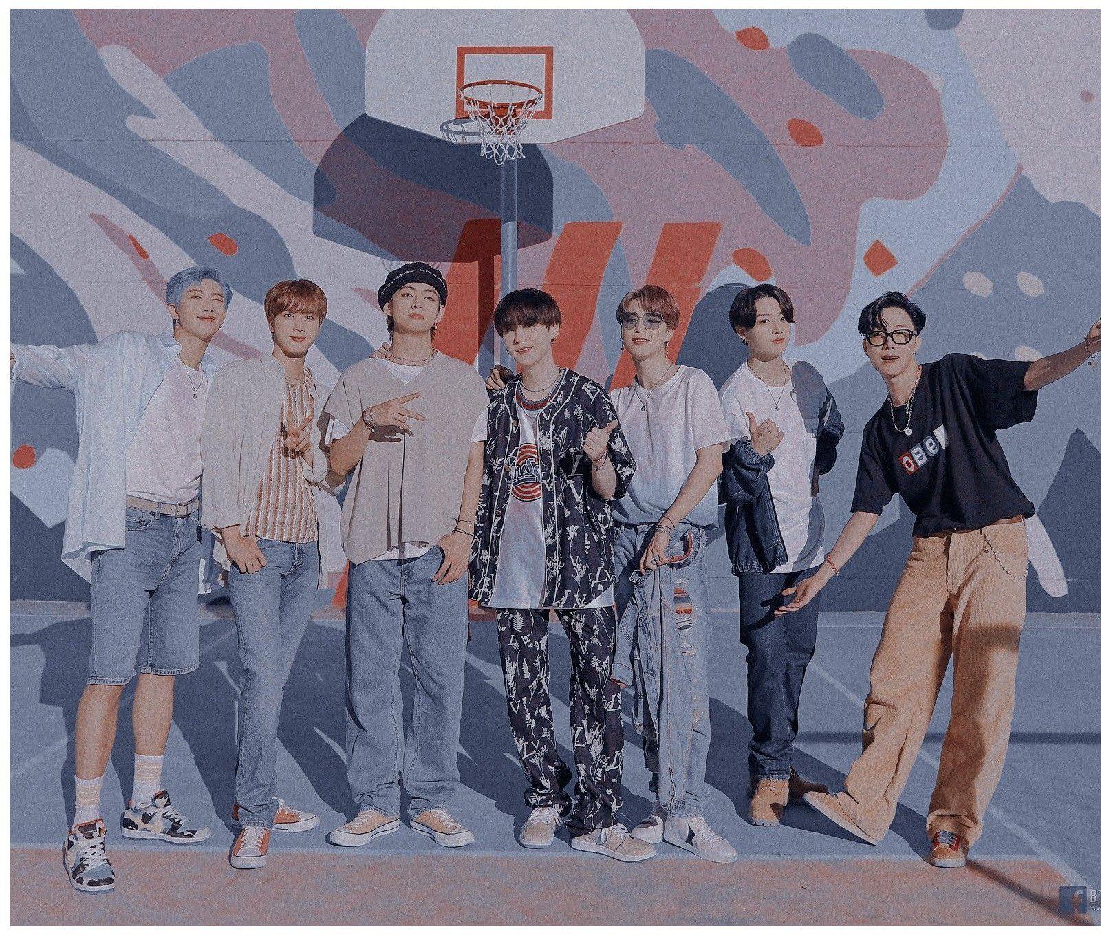 Bts aesthetic group wallpaper