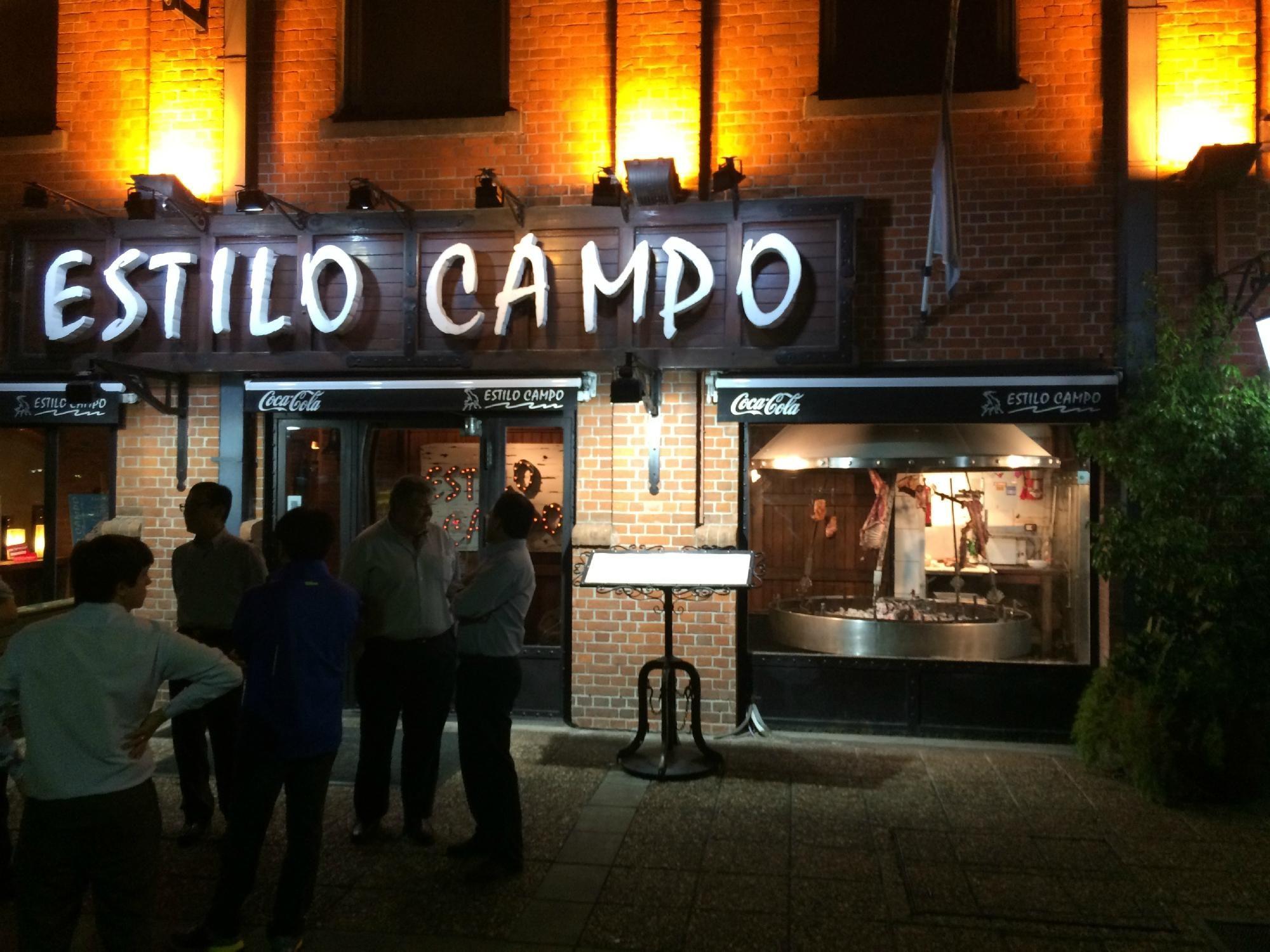 Restaurant Estilo Campo Broadway shows, Trip advisor